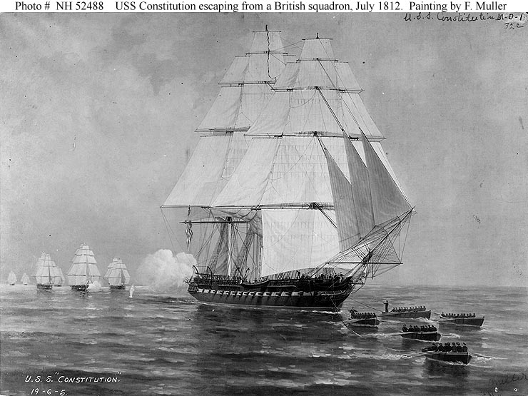 war of 1812 at sea