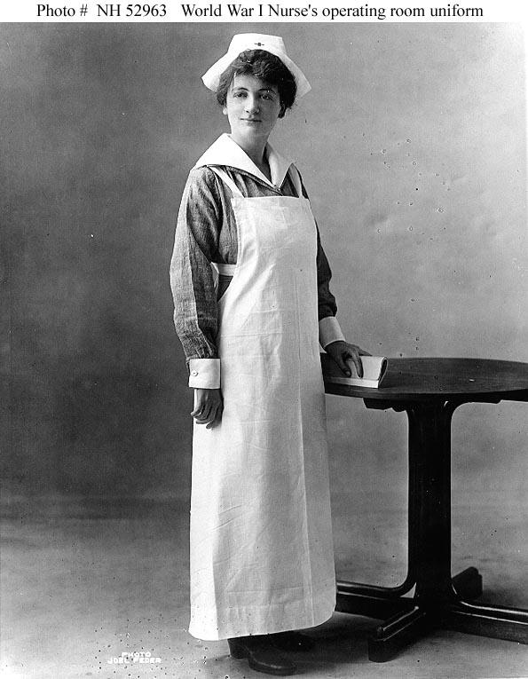 Nurses And The U S Navy 1917 1919