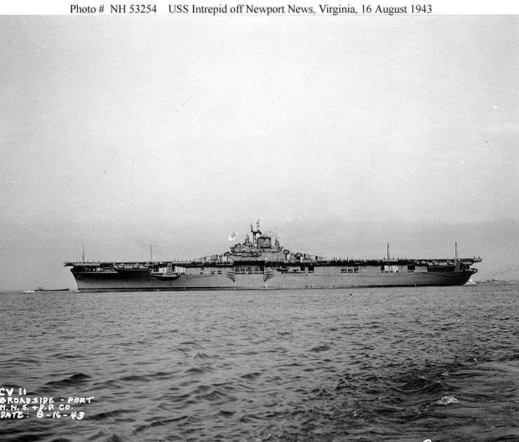 USN Ships--USS Intrepid (CV-11, later CVA-11 and CVS-11)