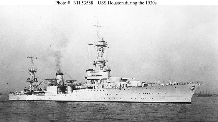 Image result for USS houston