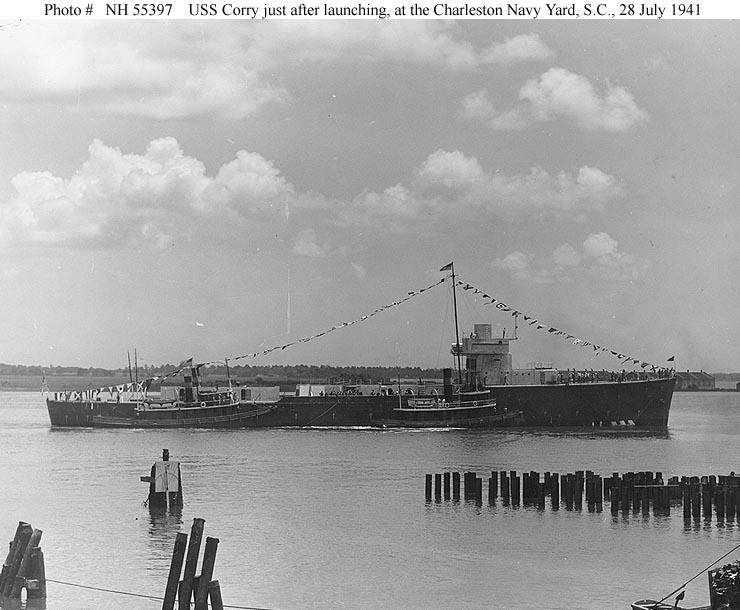 Usn Ships Uss Corry Dd 463