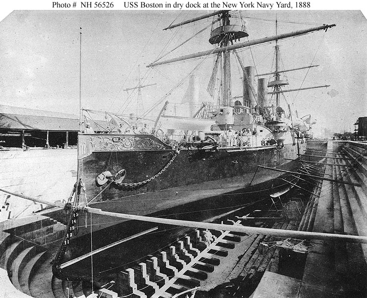 USN Ships--USS Boston (1887-1946)