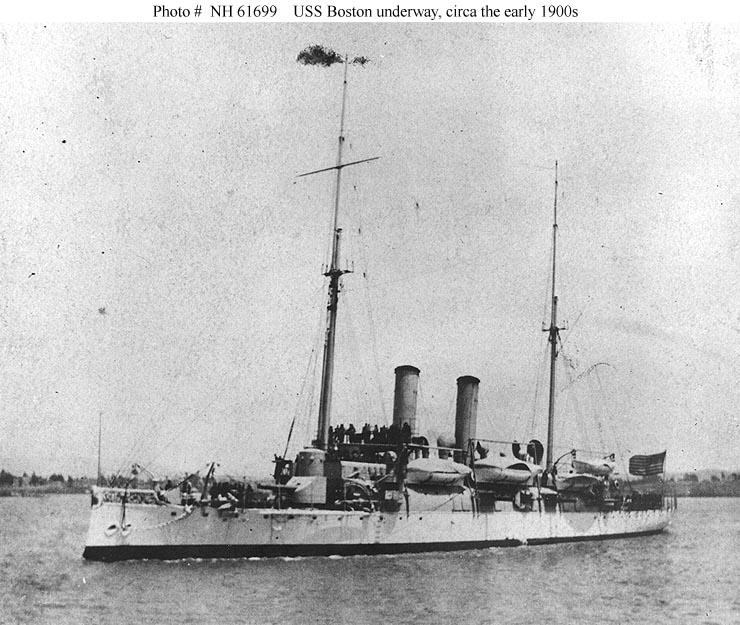 USN Ships--USS Boston (1887-1946)