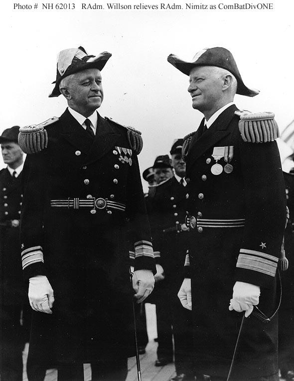 Fleet Admiral Chester W Nimitz USN 1885 1966 Activities And Group Photographs