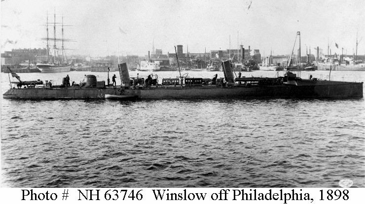 Image result for USS WINSLOW 1898