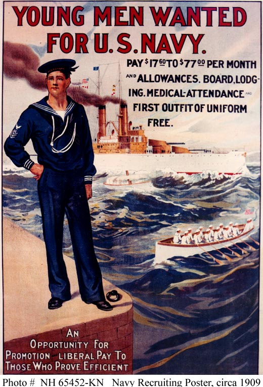 u s navy recruiting posters