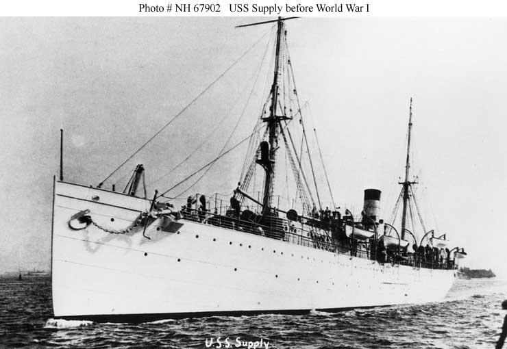 Usn Ship Types World War I Supply Ships And
