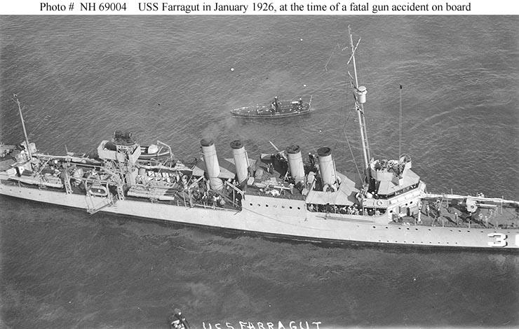 USS Farragut DD-300 | Us navy destroyers, Navy ships