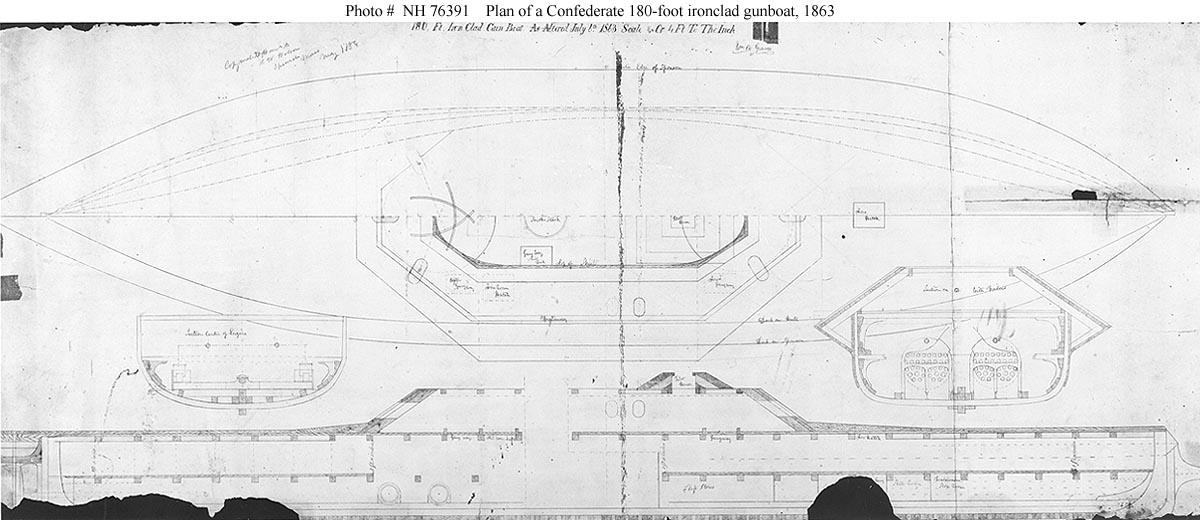 confederate ships