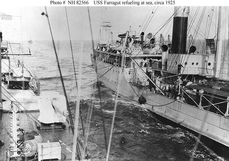 USN Ships--USS Farragut (DD-300)