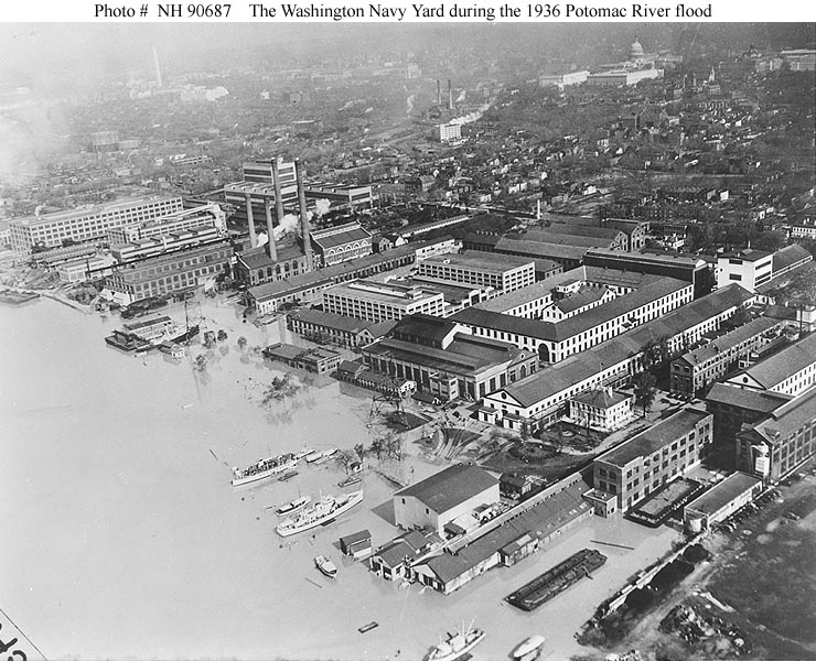 Washington Navy Yard Naval Gun Factory And Naval Weapons