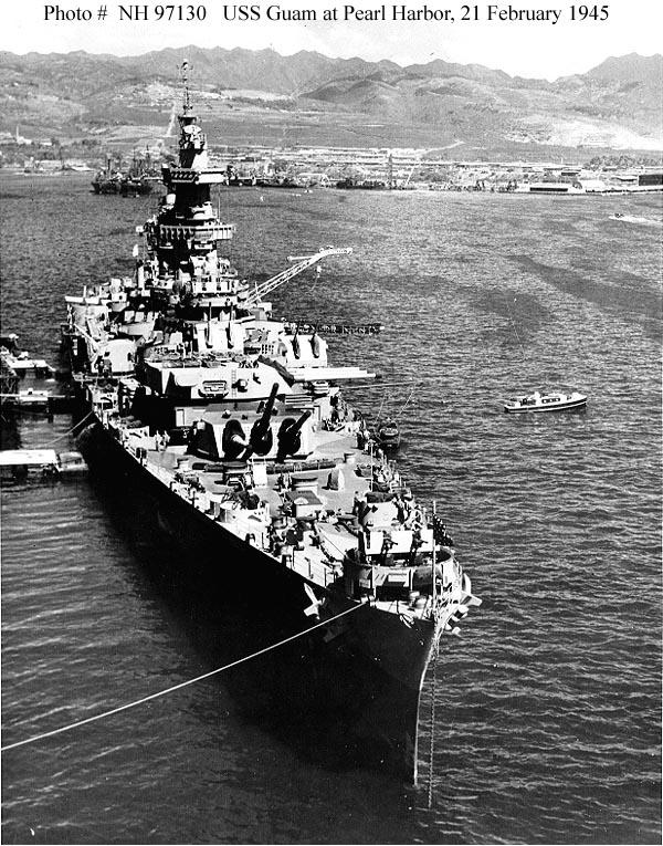 Usn Ships Uss Guam Cb 2 1944 1961