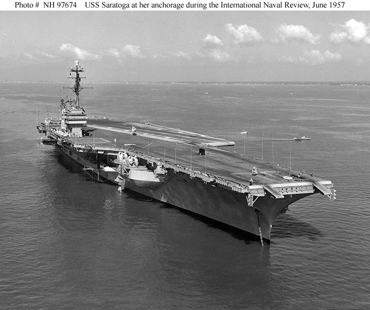 U.S. Navy - A Brief History of Aircraft Carriers - USS Midway (CVB 41)