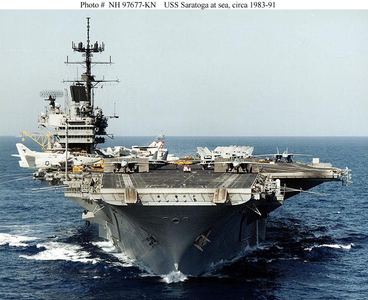 USS Little Rock CL92 CLG4 Collisions and Accidents and USS Saratoga