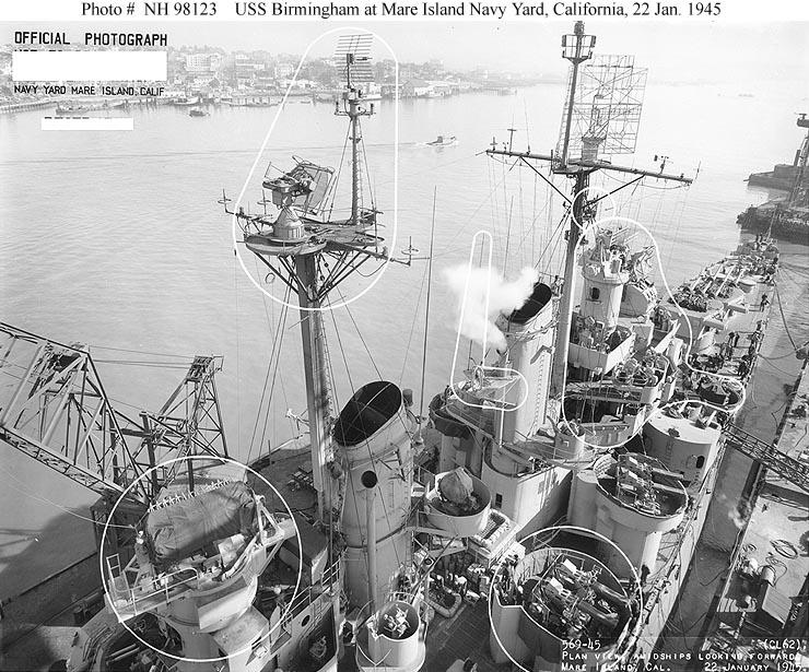 USN Ships--USS Birmingham (CL-62)