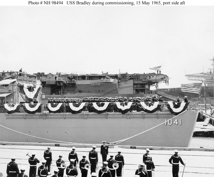 Usn Ships Uss Bradley De 1041 Later Ff 1041