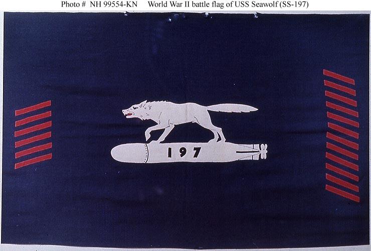 USN Ships--USS Seawolf (SS-197)