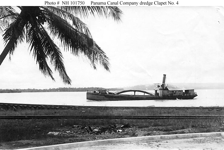 Civilian Ships - Clapet Number 4 (Dredge)