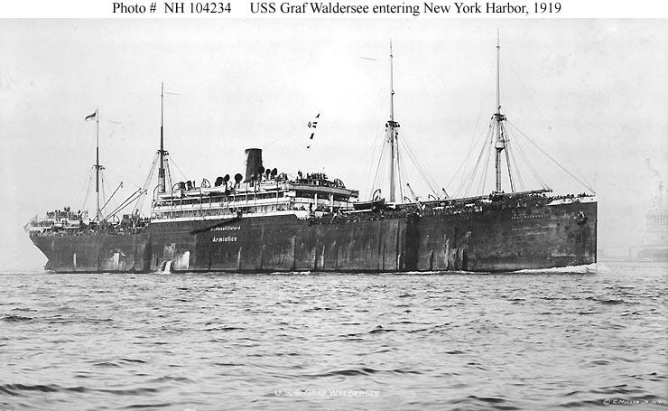 USN Ships--USS Graf Waldersee (ID # 4040)
