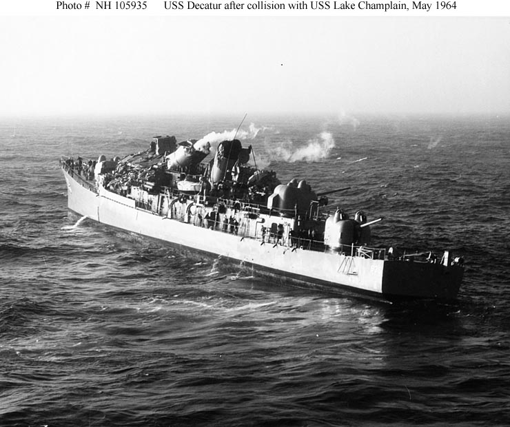 usn ships--uss decatur  dd-936  later ddg-31