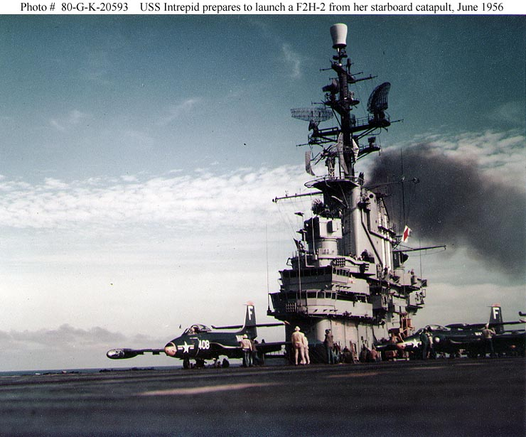 USN Ships--USS Intrepid (CV-11, later CVA-11 and CVS-11)