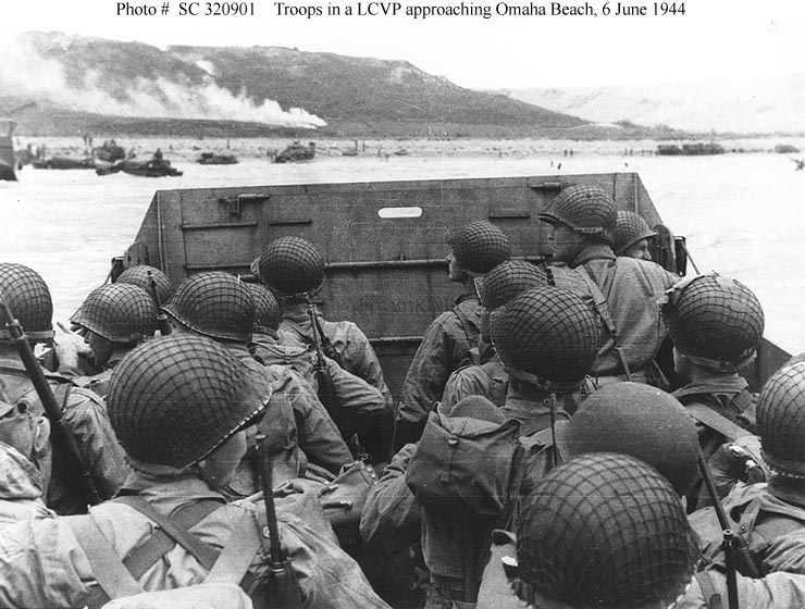 the events leading to the invasion of normandy D-day was the invasion of normandy which took place on june 6, 1944, during world war ii, and saw allied airborne and seaborne forces land in france  led by major .