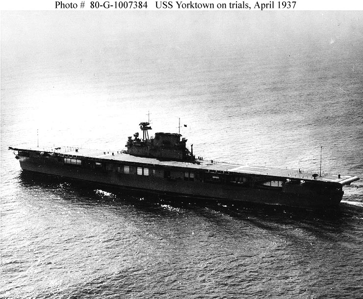Yorktown (Aircraft carrier : CV
