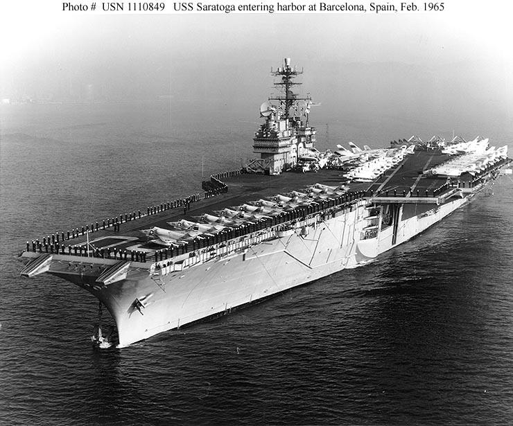 Cruise Book - USS Saratoga CVA-60: Mediterranean Cruise 1958 | GG ...