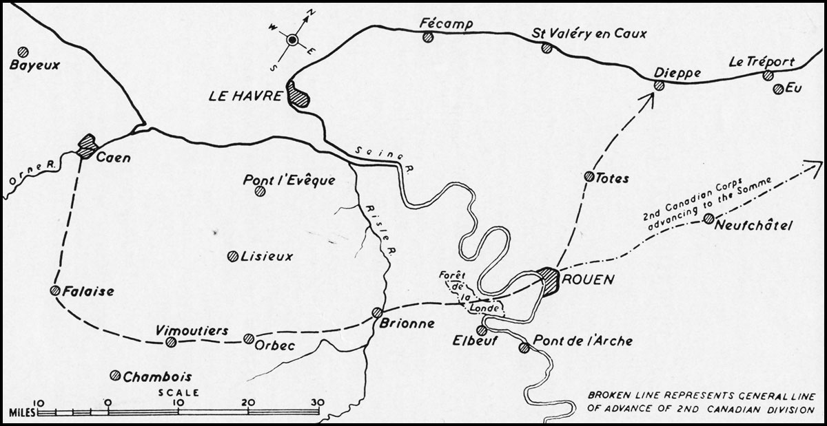 HyperWar Canadas Battle in Normandy Chapter 5