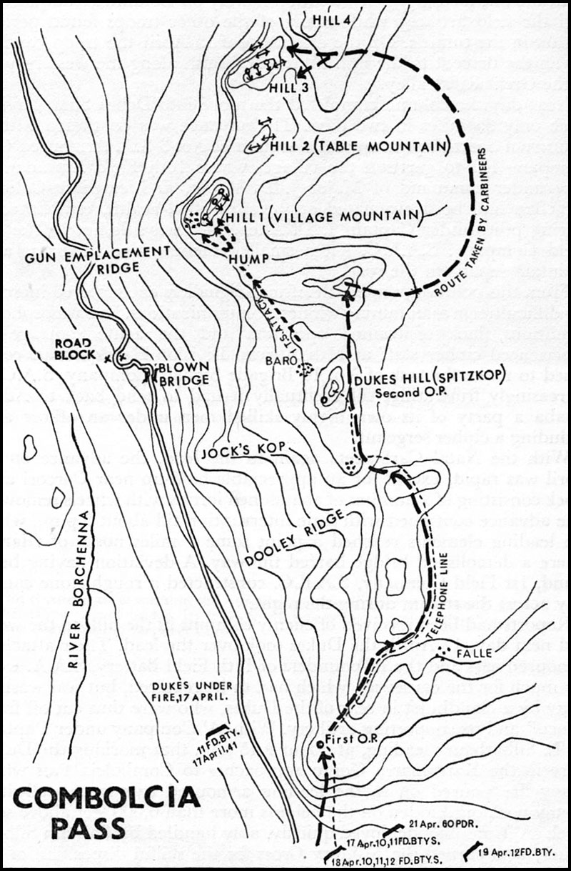 hyperwar east african and abyssinian c aigns Polish Army the battle of bolcia pass