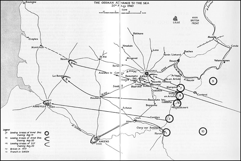 Hyperwar The War In France And Flanders 19391940 Chapter V
