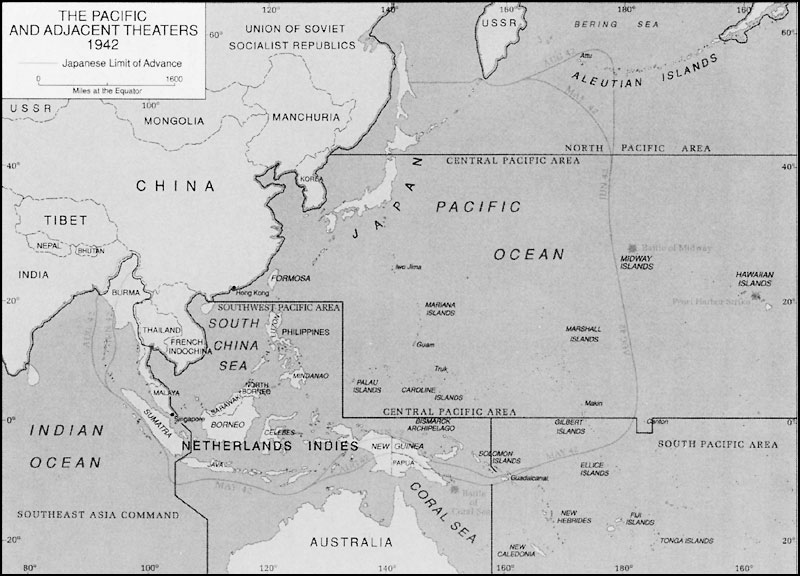 Operations In The Central Pacific