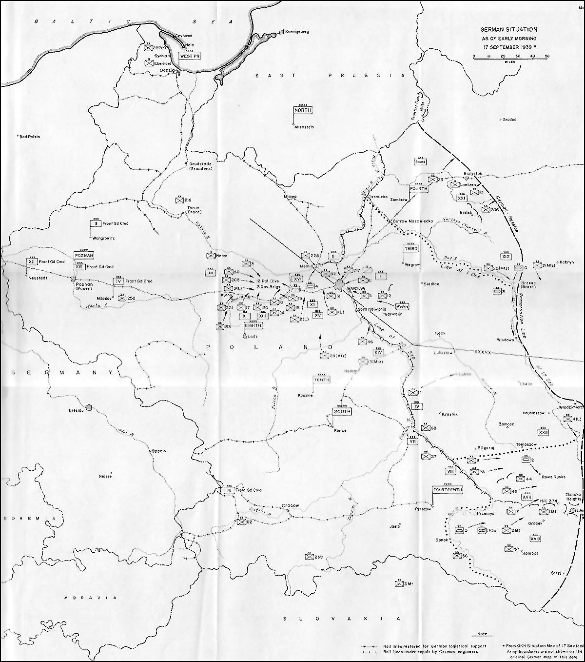HyperWar The German Campaign in Poland 1939 Part III