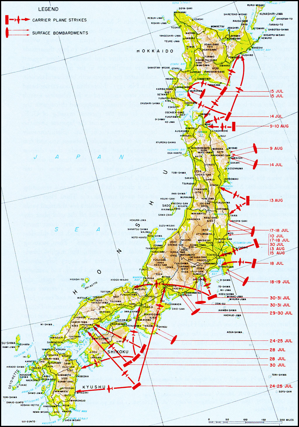 HyperWar Campaigns Of MacArthurI Chapter - Us naval bases in japan map
