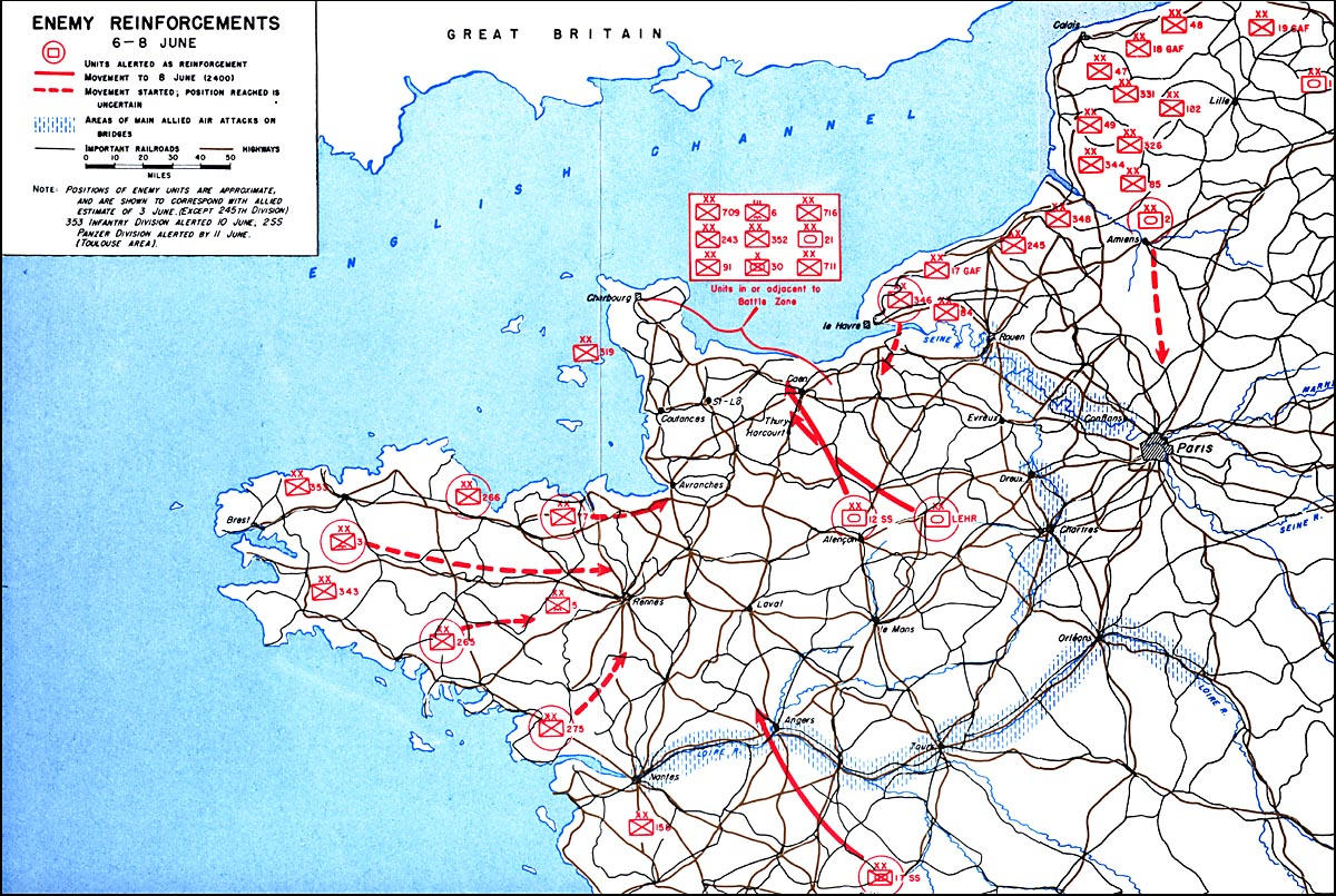 HyperWar OMAHA Beachhead 6 June13 June 1944 Chapter 6