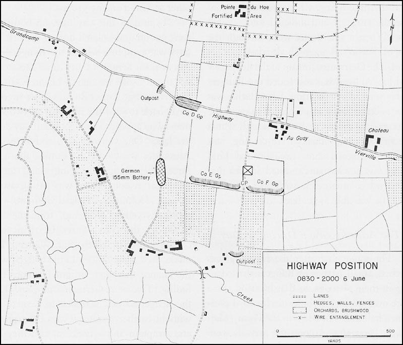 Hyperwar Small Unit Actions Point Du Hoe