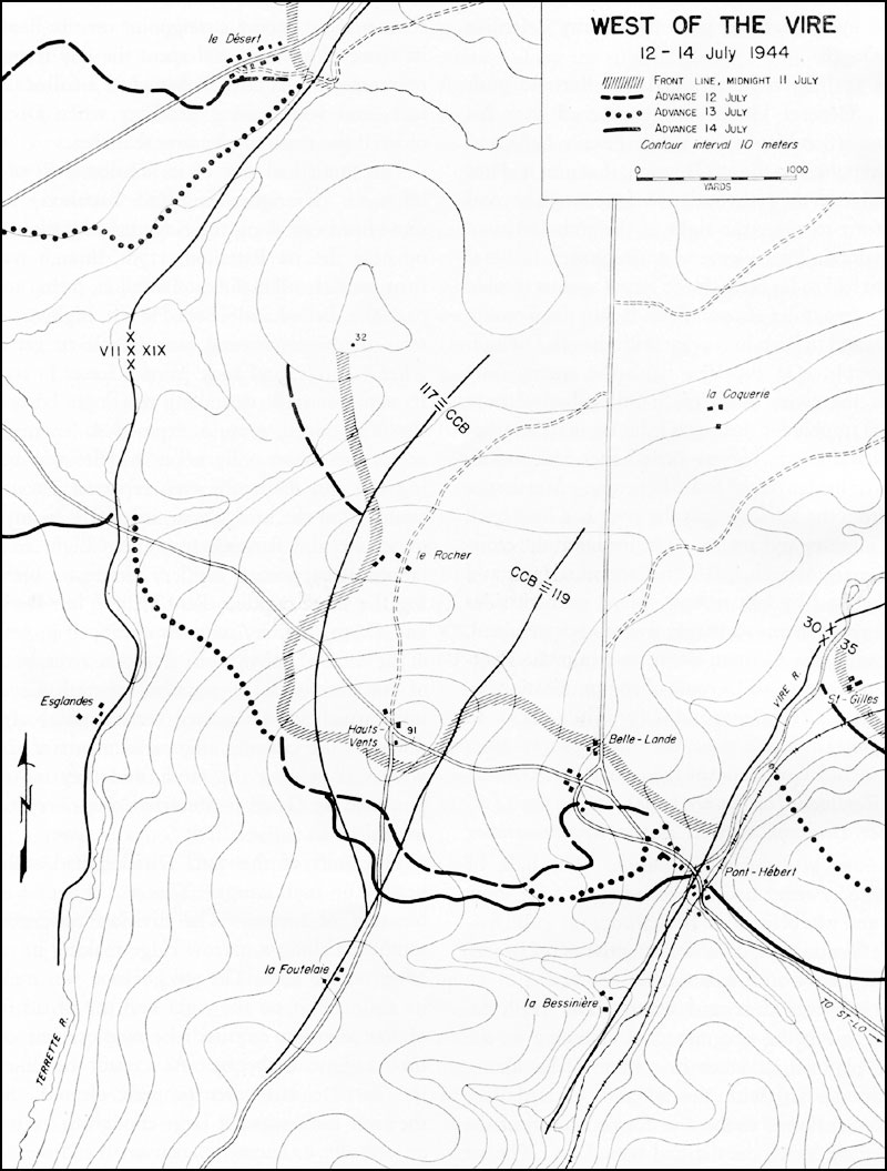 hyperwar st lo 7 july 19 july 1944 FN P90 Airsoft while panzer lehr had been repulsed by the 9th division that unit had not been able on the 11th to advance far enough beyond le d sert to cover the right