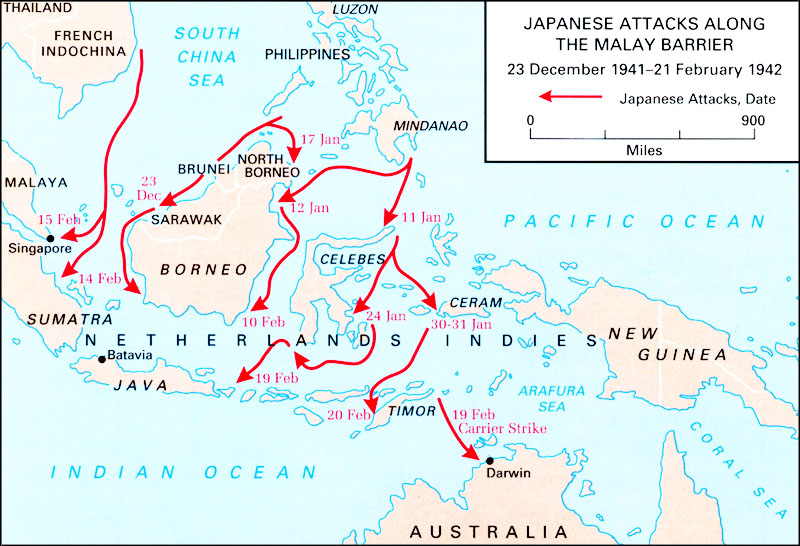 Hyperwar us army campaigns of world war ii east indies gumiabroncs Images
