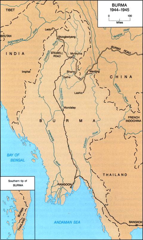 HyperWar: The U.S. Army Campaigns of World War II: India-Burma