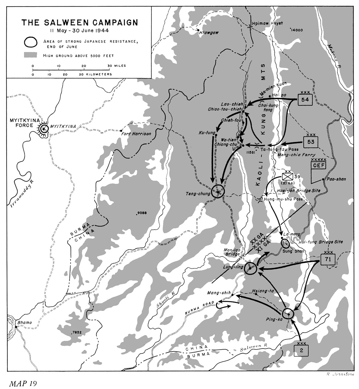 Hyperwar Us Army In Wwii Stillwells Command Problems Chapter 9 Cmd Concentrace Trace Mineral 4000 Drops Miles From Myitkyina On A Rough But Usable Trail Lung Ling Is The Old Burma Road Its Capture Would Split Japanese Positions Along Salween