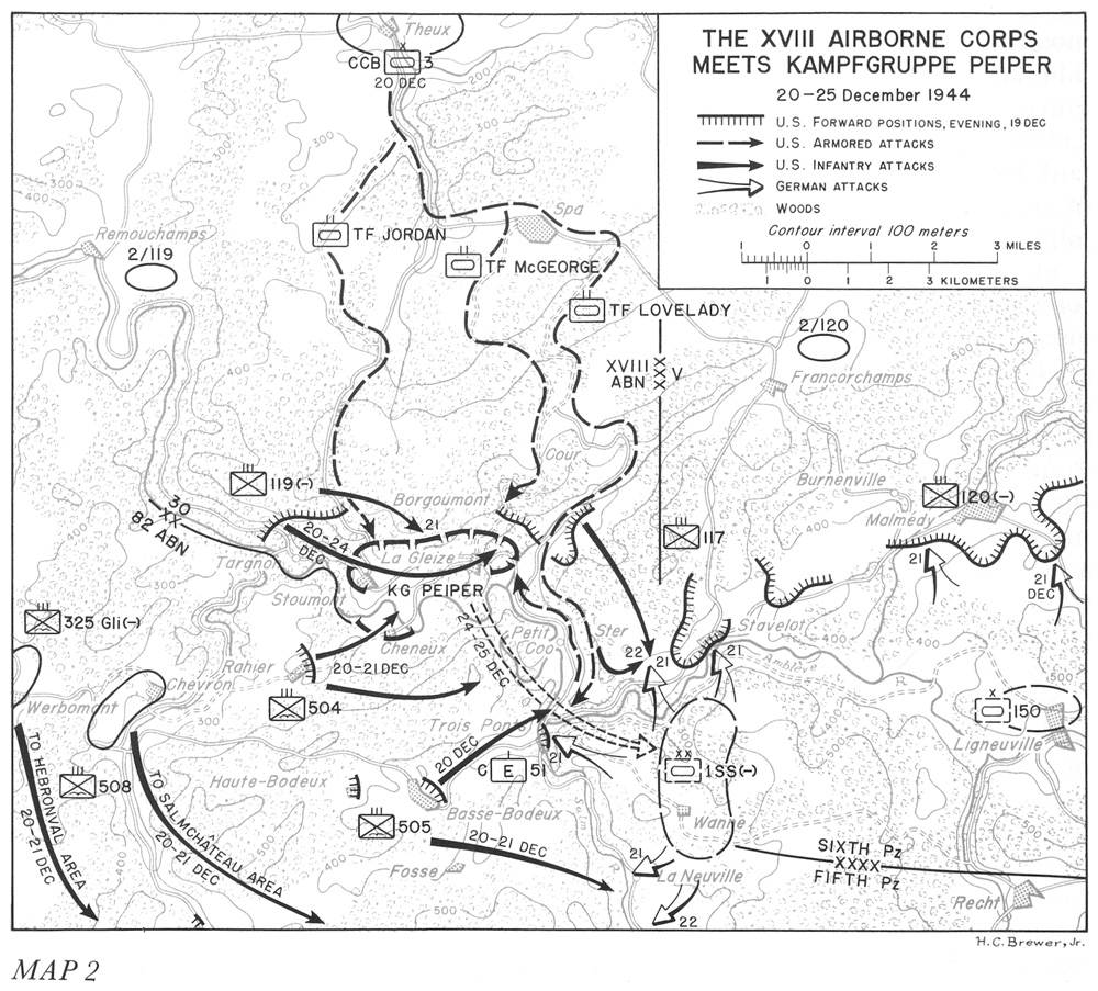hyperwar the ardennes battle of the bulge 24th Infantry Regiment the xviii airborne corps meets k fgruppe peiper 20 25 december 1944