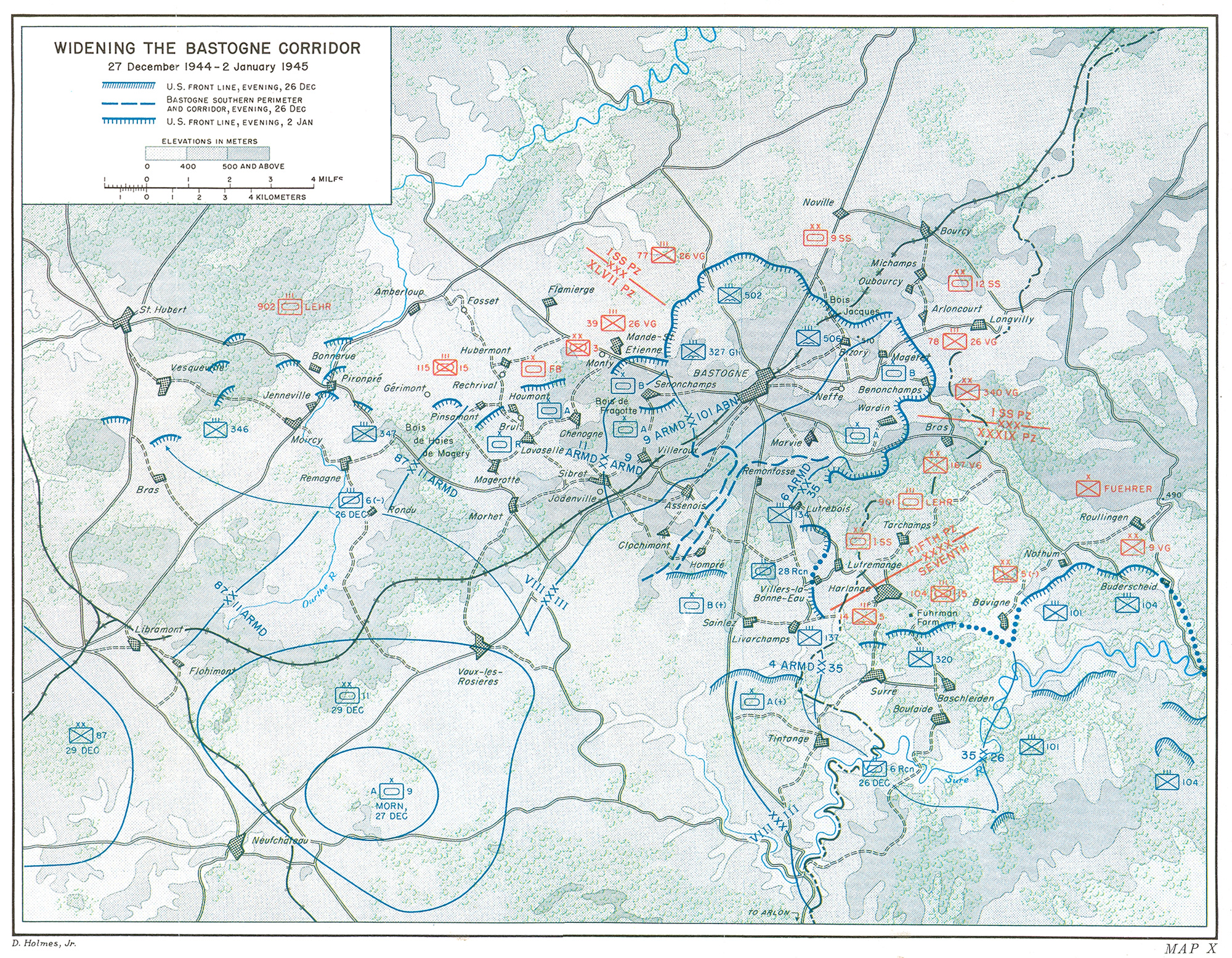 The Ardennes: Battle of the Bulge (Chapter 24)