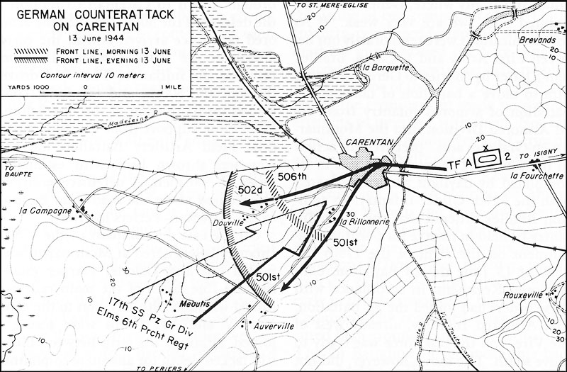 HyperWar US Army In WWII CrossChannel Attack - Us army ww2 maps
