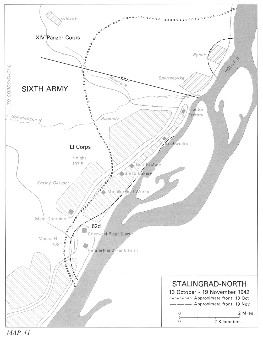 HyperWar Moscow To Stalingrad Decision In The East