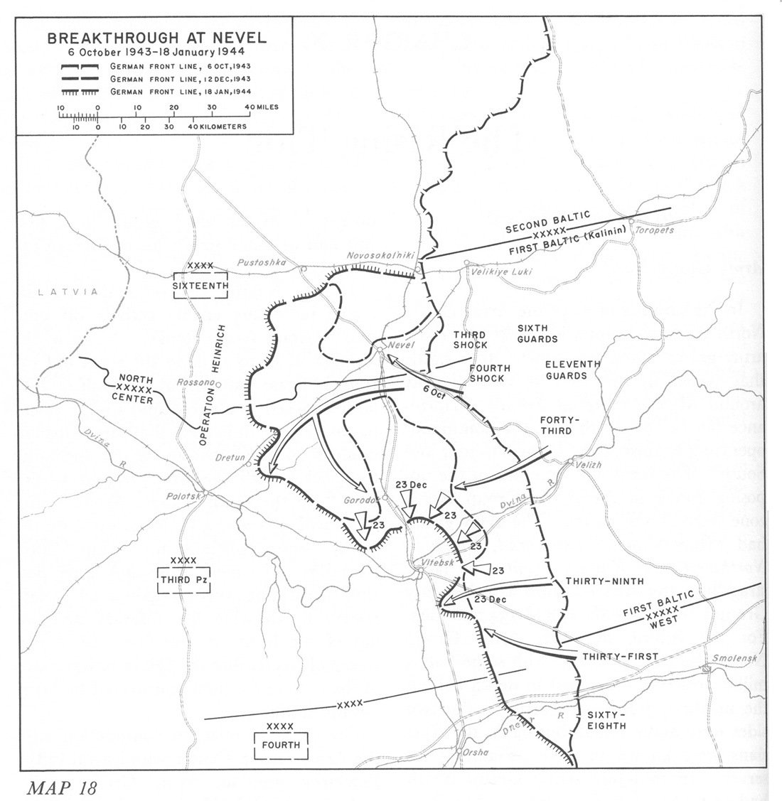 hyperwar stalingrad to berlin the german defeat in the east Ww2 Rifles breakthrough at nevel 6 october 1943 18 january 1944