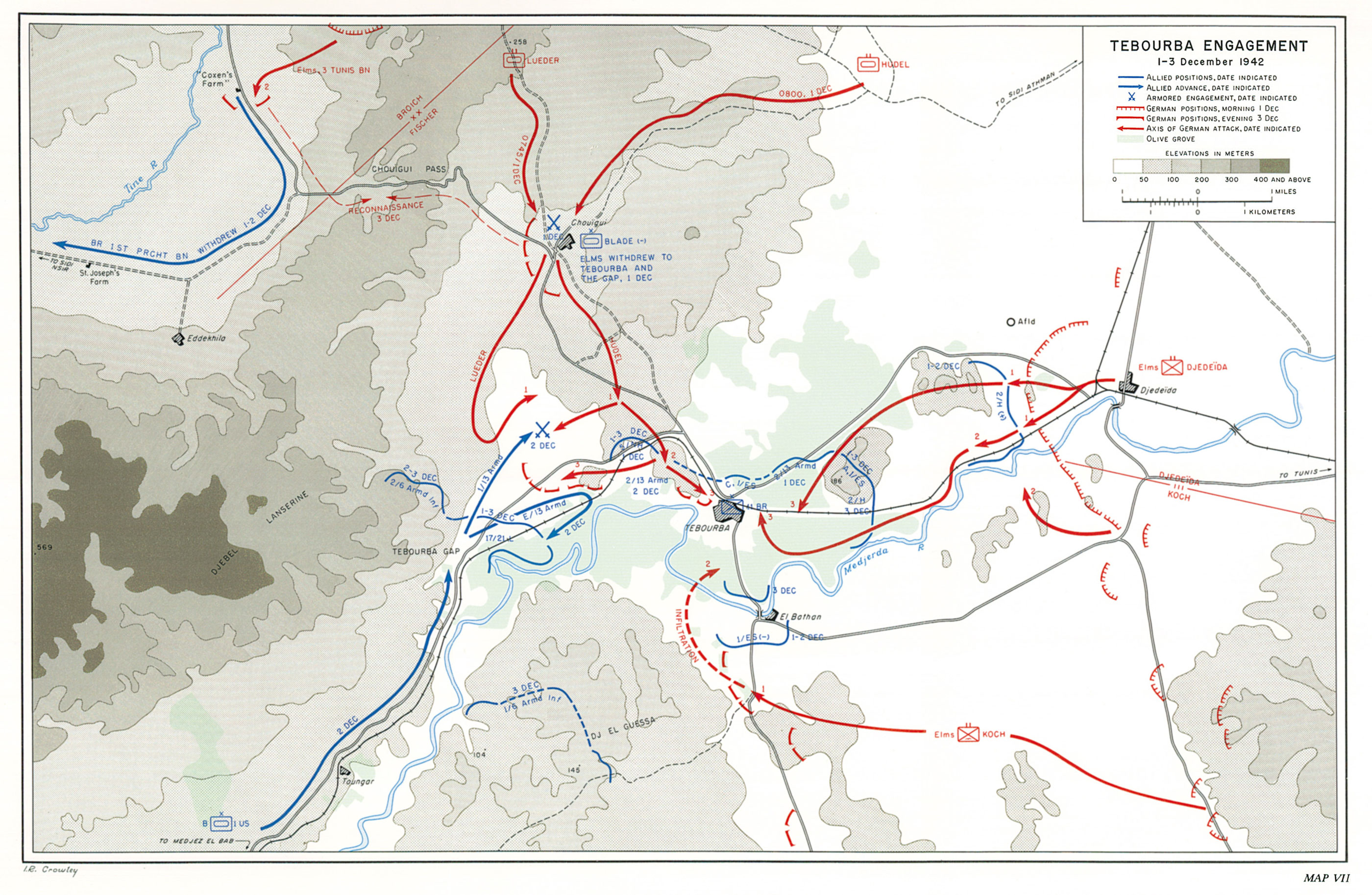 HyperWar US Army In WWII Northwest Africa Seizing The - Us northwest map