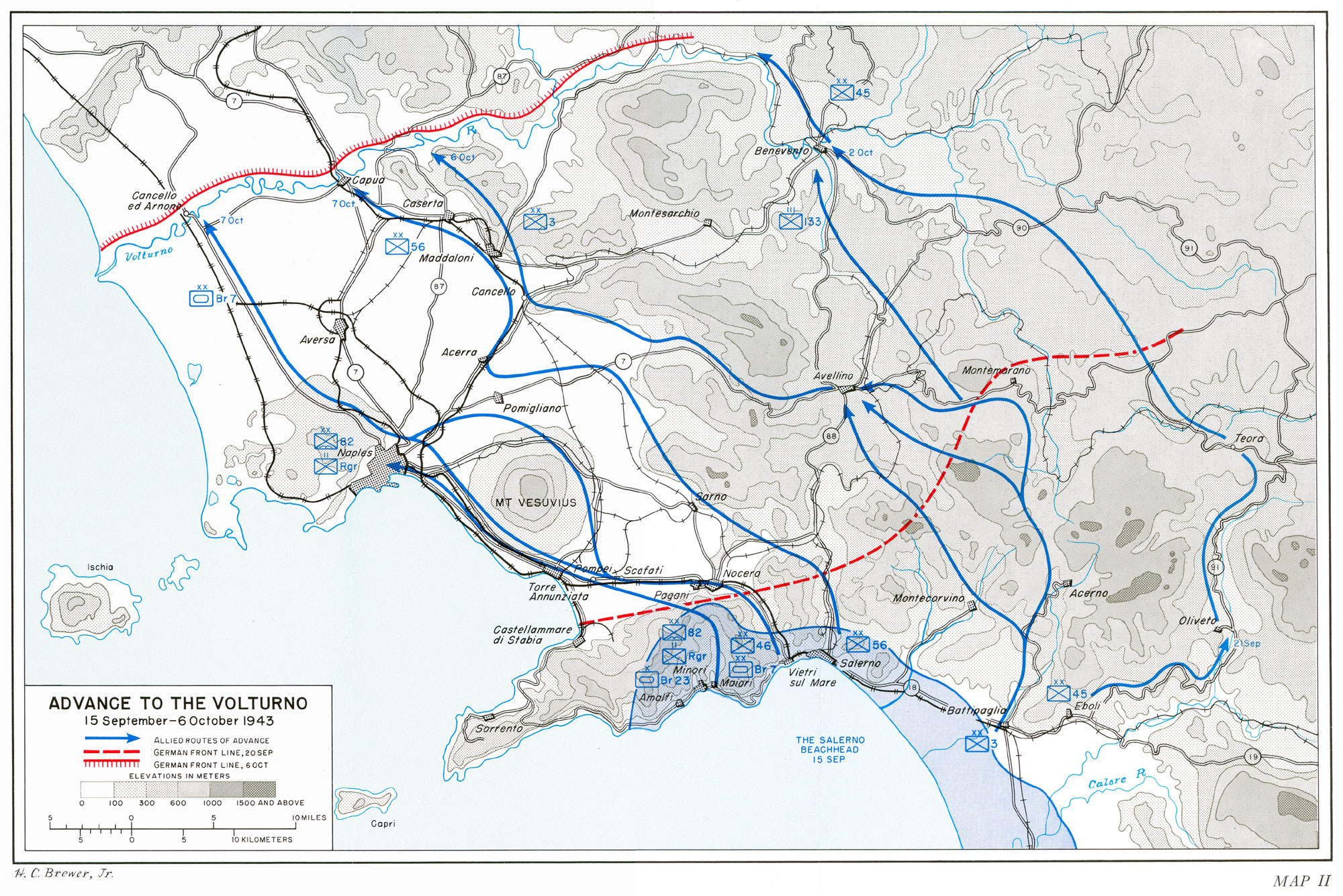 HyperWar US Army in WWII Salerno to Cassino Chapter 9