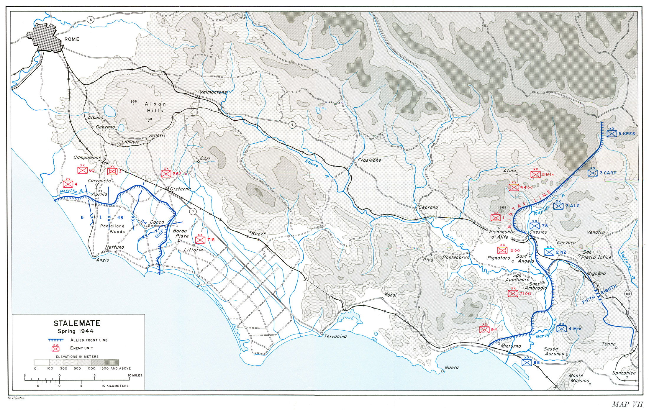 HyperWar US Army in WWII Salerno to Cassino Chapter 26
