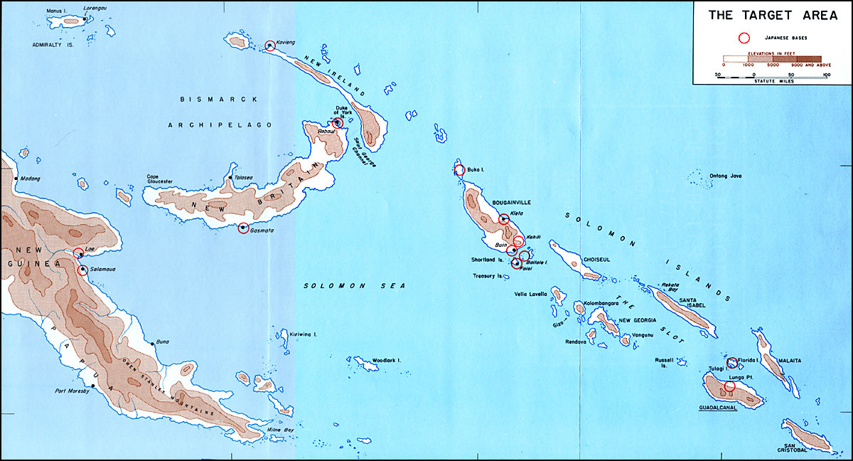 Hyperwar us army in wwii guadalcanal the first offensive the target area gumiabroncs Choice Image