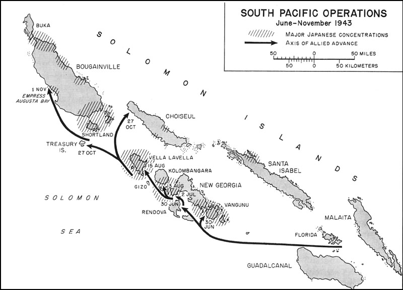South Pacific Operations, June November 1943 ...